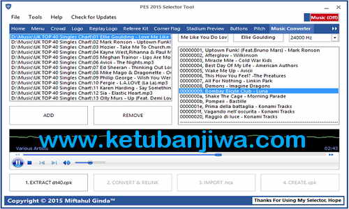 PES 2015 Selector Tools v3.1 Fix Update by Ginda01