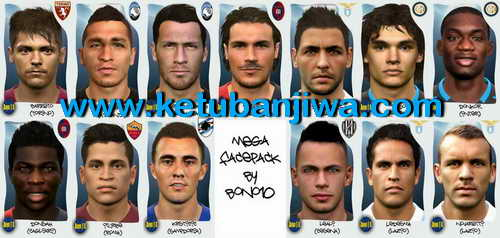 PES 2015 Serie A Mega Facepack Update by Bono18