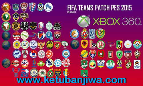 PES 2015 XBOX360 FIFA Teams Patch v3.0 by Ggdaris