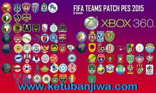 PES 2015 XBOX360 FIFA Teams Patch v3.0 by Ggdaris Kettuban Jiwa
