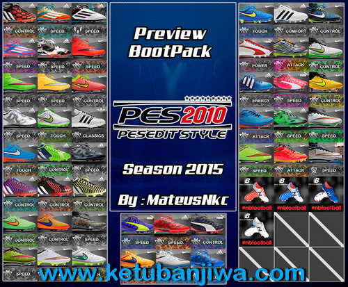 PES 2010 Bootpack The Return Season 2015 by MateusNkc Ketuban Jiwa