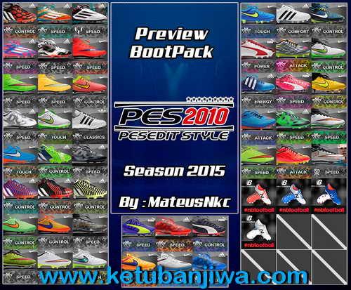 PES 2010 Bootpack The Return Season 2015 by MateusNkc Ketuban Jiwa