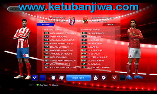 PES 2013 Atlas Lions Patch v1.0 by PES Ouanzigui Production Ketuban Jiwa SS2