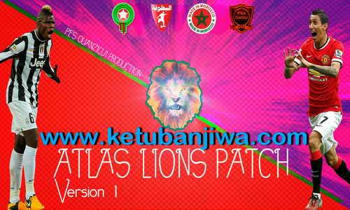 PES 2013 Atlas Lions Patch v1.0 by Pes Ouanzigui Production Ketuban Jiwa