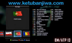 PES 2013 Option File April 2015 PESEdit 6.0 by B.Molina Ketuban Jiwa