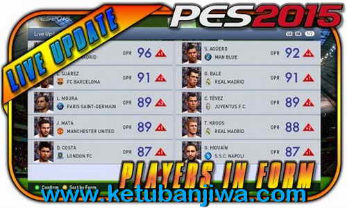 PES 2015 All 20th Live Update Available Download