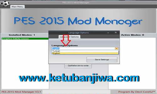 PES 2015 Alternative Selector Tools 3.1 by Devil Cold52 Ketuban Jiwa