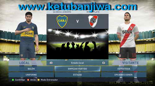 PES 2015 Boca Juniors Start Title Screens by Secun1972 Ketuban Jiwa SS2
