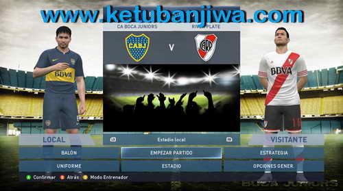 PES 2015 Boca Juniors Start Title Screens by Secun1972 Ketuban Jiwa SS2