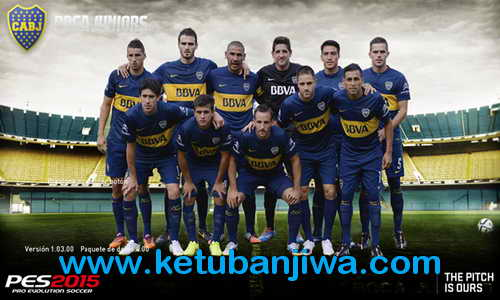 PES 2015 Boca Juniors Start Title Screens by Secun1972