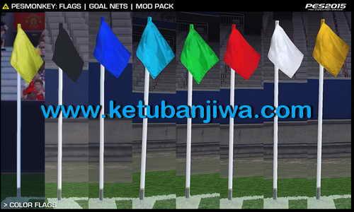 PES 2015 Flags & Goal Nets Mod Pack by PESMonkey Ketuban Jiwa