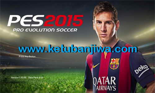 PES 2015 Graphics Mod Adapted From FIFA 15 by Adnan-M Ketuban Jiwa