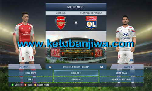 PES 2015 Graphics Mod Adapted From FIFA 15 by Adnan-M Ketuban Jiwa Preview