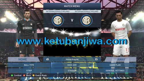 PES 2015 Internazionale Milano Graphics Mod by Polaris9 Preview