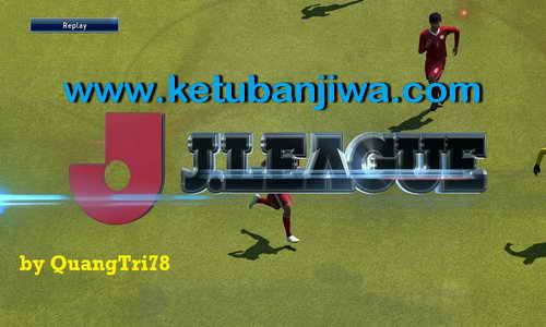 PES 2015 J.League Replay Logo by Quangtri78
