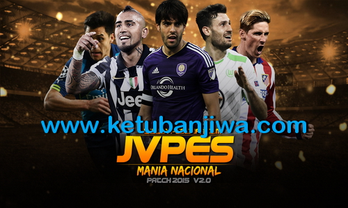 PES 2015 JVPES Mania Nacional Patch v2.0 Incl DLC 4.0