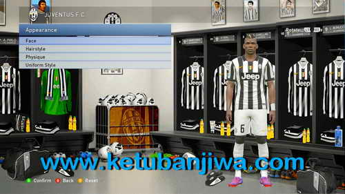 PES 2015 Juventus Graphic Menu Mods by Handy Jr Ketuban Jiwa Preview