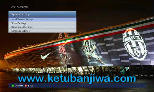 PES 2015 Juventus Graphic Menu Mods by Handy Jr Ketuban Jiwa