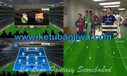 PES 2015 La Liga BBVA Fantasy Scoreboard by Polaris9 Ketuban Jiwa