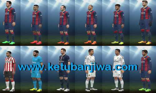 PES 2015 Latest Bootpack Collection by Various People Ketuban jiwa