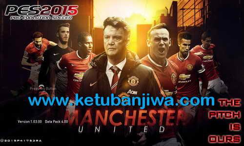 PES 2015 Manchester United Graphics Menu by Akira Masato