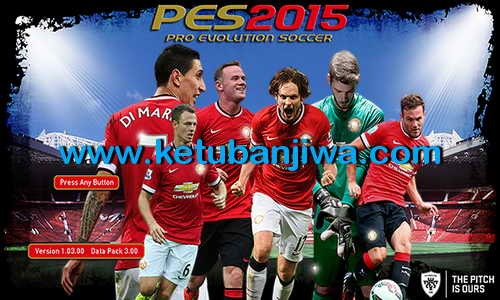 PES 2015 Manchester United Start Title Screens by Hawke Ketuban Jiwa