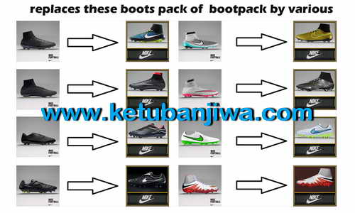 PES 2015 Nike Bootpack Update by Tisera09