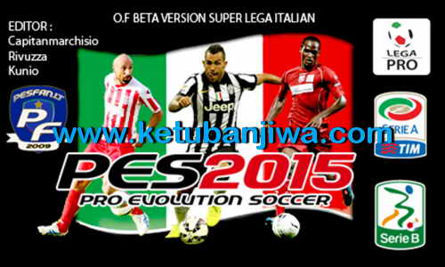 PES 2015 PS3 Option File Super Lega Italian Update 2.1