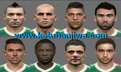 PES 2015 Panathinaikos Facepack Update by Sotirakis