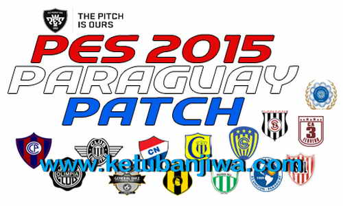 PES 2015 Paraguay Patch v1 Copa de Primera For PTE 6.0