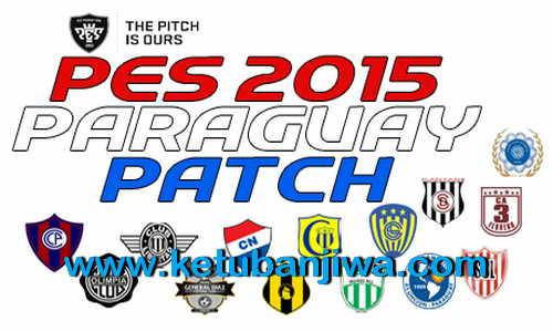 PES 2015 Paraguay Patch v1 Copa de Primera For PTE 6.0 Ketuban Jiwa
