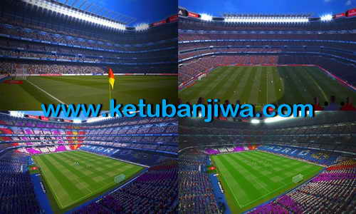 PES 2015 Stadiums Pack v3.5 Fix Update by Estarlen Silva