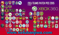 PES 2015 XBOX360 FIFA Teams Patch 3.0 Update 18-04-15 by Ggdaris Ketuban Jiwa