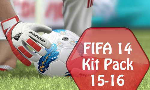 FIFA 14 Kitpack Update Season 2015/2016 by Kool2007