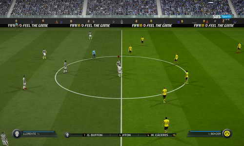 FIFA 15 New SweetFX Graphic Mods Update by Wichanwoo Ketuban Jiwa