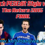 PES 2010 PESEdit Style v3.0 The Return – Season 2015