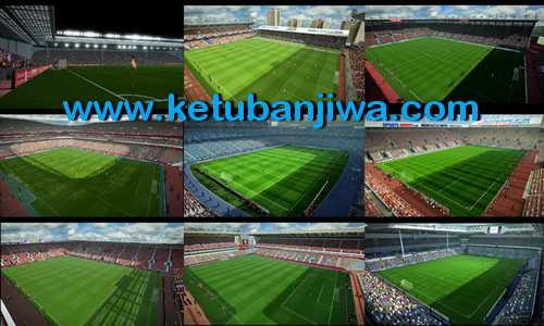 PES 2013 English Premier League Stadium Pack GDB by Sevak Ketuban Jiwa