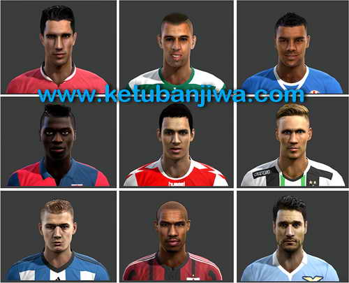 PES 2013 International Facepack v5 by Mayo Facemaker