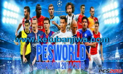 PES 2013 PESWorld 2.0 Patch Bugs Fixed Season 14-15 Ketuban Jiwa