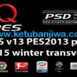 PES 2013 QPES Patch v13 + v13.1 Winter Update 2015