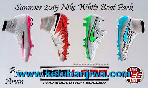 PES 2015 Nike Summer 2015 White Bootpack by Arvin Ketuban Jiwa