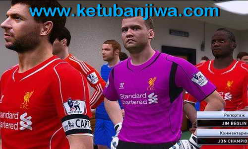 PES 2015 Out Team On The Field For GRP 2015 Ketuban Jiwa