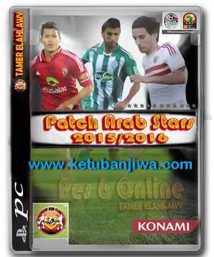 PES6 Patch Arab Stars Season 2015-2016 Single Link Ketuban Jiwa