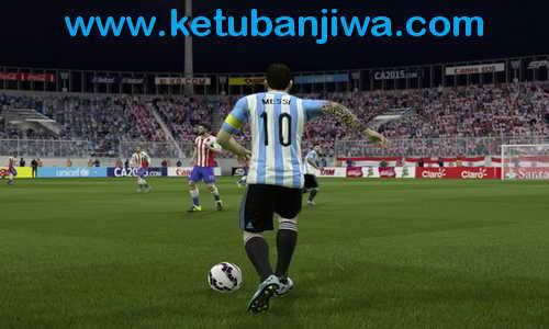 FIFA 15 ModdingWay Mods 2.3.0 + Fix 2.3.1 Copa America Ketuban Jiwa