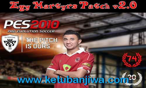 PES 2010 Egy Martyrs Patch v2.0 Season 2015/2016