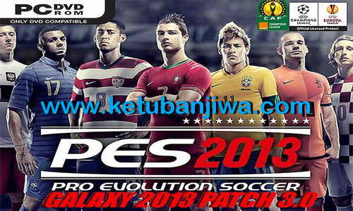 PES 2013 Galaxy Patch 3.0 Single Link + Fix
