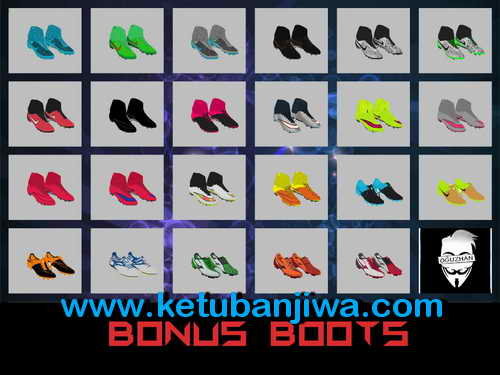 PES 2013 My Last Bootpack Season 15-16 by Jayk Bonus Boots Ketuban Jiwa