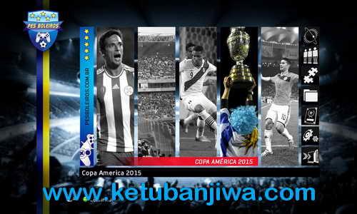PES 2013 PES Boleiros Copa America 2015 Patch Ketuban Jiwa