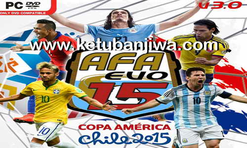 PES 2015 AFA Evo15 Patch v3.0 + Fix Update v3.1 Ketuban Jiwa