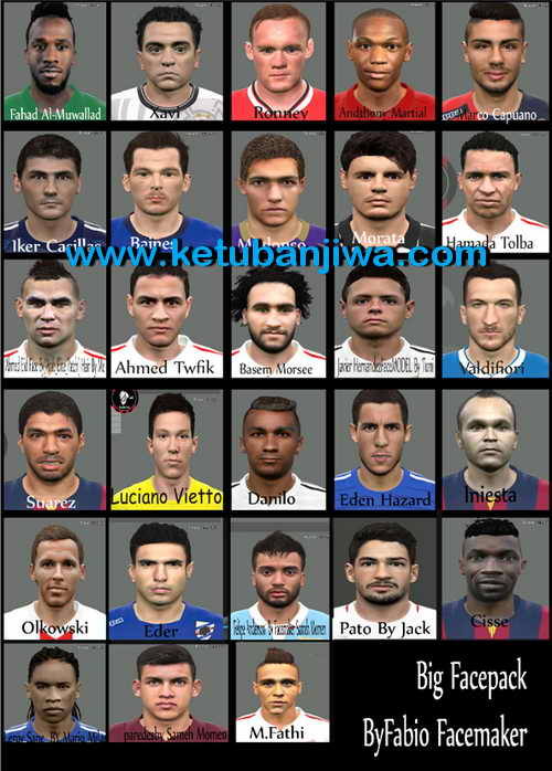 PES 2015 Big Facepack v1 by Fabio Facemaker